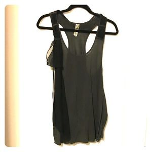 Free People racerback tank with bow - M